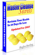 Master Cleanse product cover
