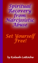 Spiritual Recovery From Narcissistic Abuse book cover
