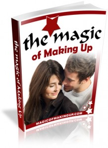 The Magic of Making Up book cover
