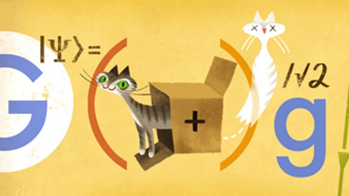 Erwin Schrödinger – Who let the Cat out of the Box