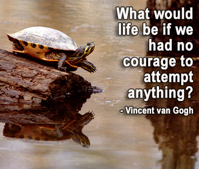 Developing Courage