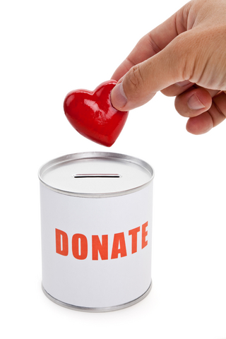 donation can concept