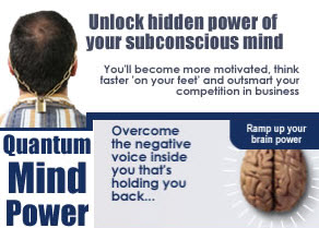 Quantum Mind banner ad