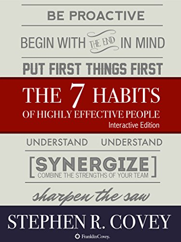 The 7 Habits of Highly Effective People – Interactive Edition